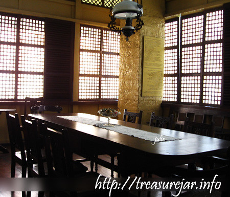 Rizal House Dining Room