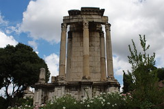 Forum Romain : Temple de Vesta