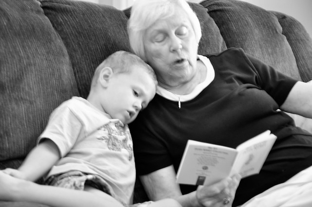 reading with gmama