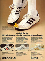 Adidas tennis ad - Forest Hills are born! (days of speed) Tags: adidas