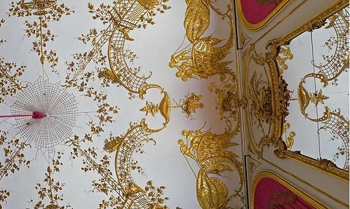 интерьер Двореца Сан-Суси