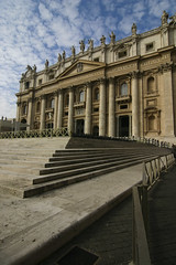 Saint Peter's Square (michael_hamburg69) Tags: trip italien vacation italy oktober vatican rome roma saint square october italia sightseeing vaticano peters rom 2010 vatikan    fndgng