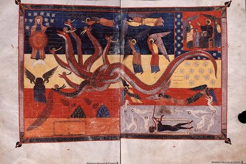 021-Beato de Liebana-La mujer y el dragon-1047-Bibioteca Nacional de España