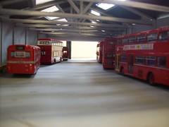 Merton Garage diorama (kingsway john) Tags: merton garage london transport model card kingsway models 176 bus kits scale diorama oo gauge miniature
