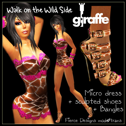 Walk on the wild side giraffe