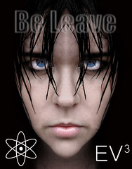 ~ Be Leave, Atom & EV3  ~ (ViaMoi) Tags: woman eye art girl face mystery lady female contrast digital photoshop hope design eyes digitalart arts headshot nehalennia viamoi