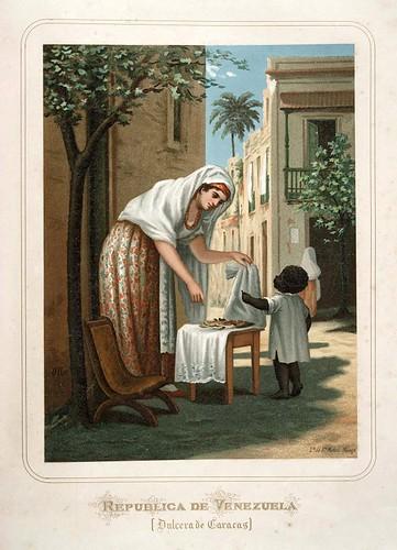014-Republica de Venezuela-Dulcera de Caracas-Las Mujeres Españolas Portuguesas y Americanas 1876-Miguel Guijarro