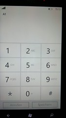 Windows Phone 7 Nummereingabe