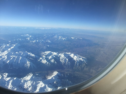 SFO Day 1: View of Colorado Springs from Plane
