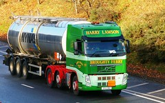 Volvo FH-HARRY LAWSON Broughty Ferry Dundee (scotrailm 63A) Tags: trucks tankers lawson lorries
