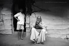 Generations (AЯίF   Md. Arifur Rahman) Tags: old boy house man heritage village child father gran aged tobacco sylhet bangladesh hukka sunamganj