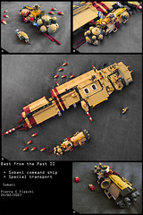 Blast from the Past II (2007) (Pierre E Fieschi) Tags: ship lego pierre space capital transport special micro spaceship command spacecraft microspace fieschi microscale microspacetopia sobani