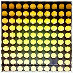 Kreise (manganite) Tags: orange abstract mobile subway bonn circles walls vignette