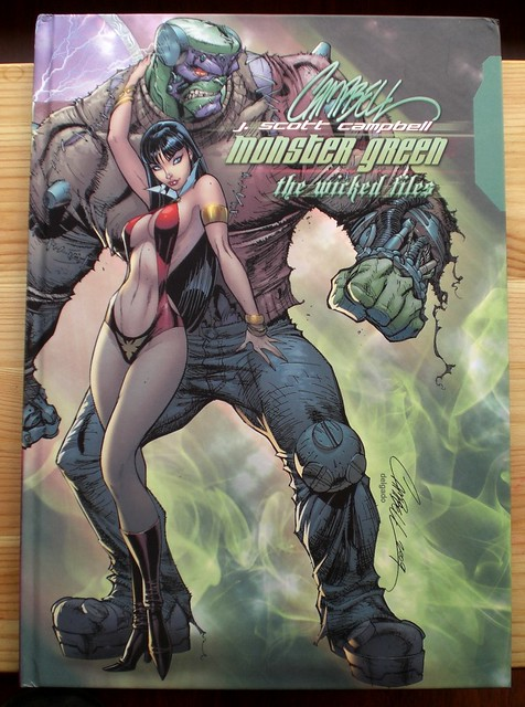 J Scott Campbell Monster Green, the wicked files (2009)