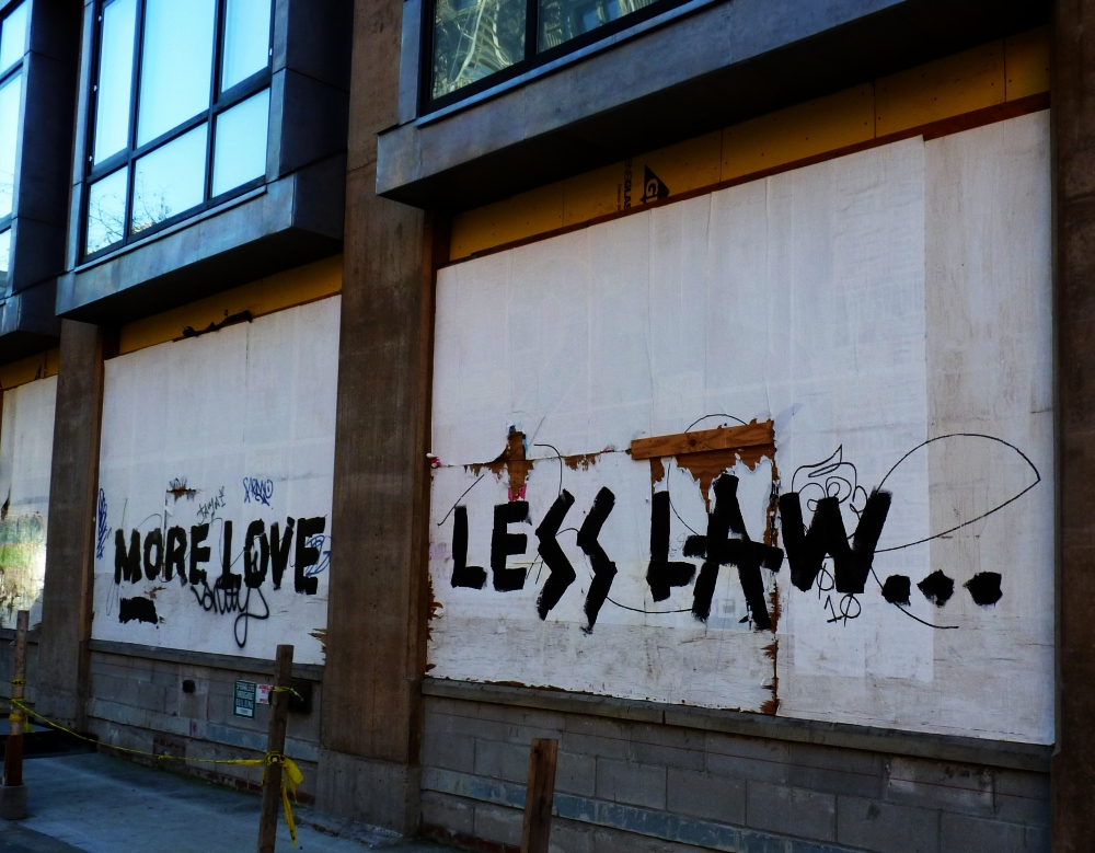 More Love Less Law