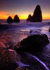 Western Peak (Philippe Vieux-Jeanton) Tags: california sunset marincounty hdr marinheadlands 2010 rodeobeach sigma1020mm goldengatenationalrecreationarea sonydlsra700