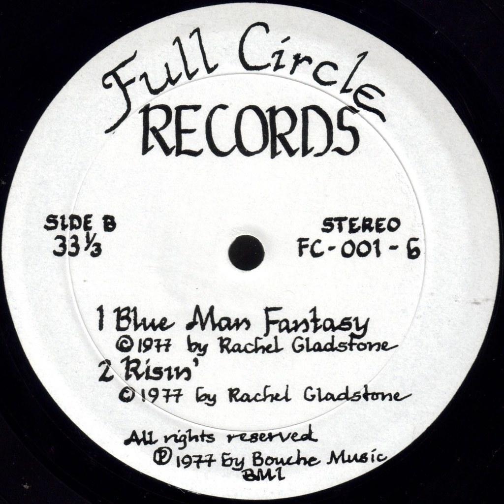 Circle label B