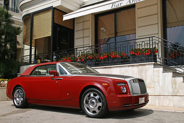 red florida convertible rollsroyce montecarlo monaco chrome phantom coupe softtop drophead yannickvanasphotography