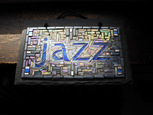 Jazz Mosaic Sign