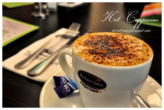 Kitt's Farewell Dinner: Hot Cappucino