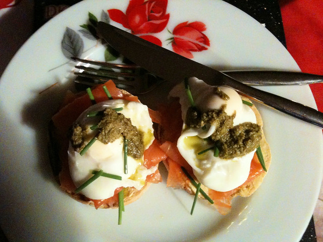 Poached Eggs & Smoked Salmon