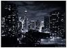 Fall Nocturne (swanksalot) Tags: blackandwhite bw chicago skyline buildings nocturne rivernorth faved swanksalot sethanderson killgubbin 18mm105mm