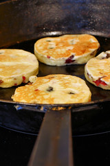 Welsh cakes cooking 0436 R