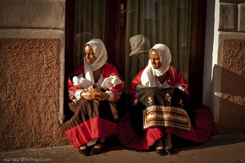 Nuoro: Costume tradizionale femminile