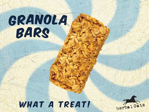 Herbal Oats Granola Bar