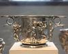 Pair of silver scyphi (cups) with relief decoration (peterjr1961) Tags: newyorkcity newyork art themet metropolitanmuseumofart