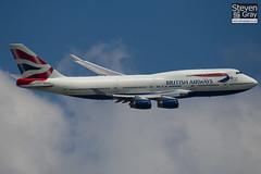 G-BNLZ - 27091 - British Airways - Boeing 747-436 - Heathrow - 100617 - Steven Gray - IMG_4799