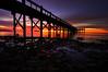 Silver Sands State Park: Crack of dawn HDR (mbaglole) Tags: sun sunrise dawn high nikon dynamic connecticut ct milford nikkor rise range hdr afs milfordct silversandsstatepark f35f45 1024mm nikonnikkorafs1024mm blinksuperstars