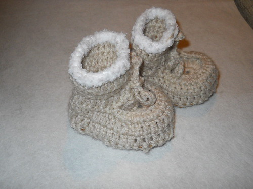 Baby Snuggli boots with sheepskin soles