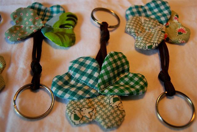 clover keychains