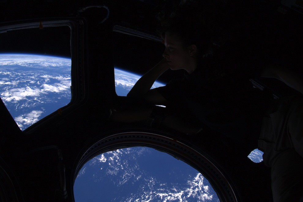 Incredible Photos from Space: view out of the cupola on ISS