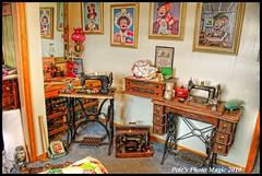 HDR #883 - Sewing Room (Pete's Photo Magic) Tags: usa psp pentax idaho hdr topaz photomatix k20d