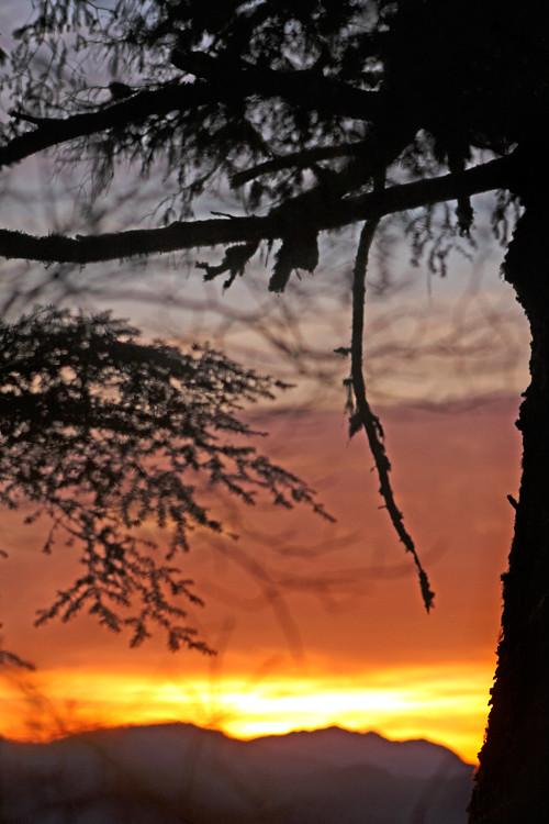 sunset, Kasaan, Alaska