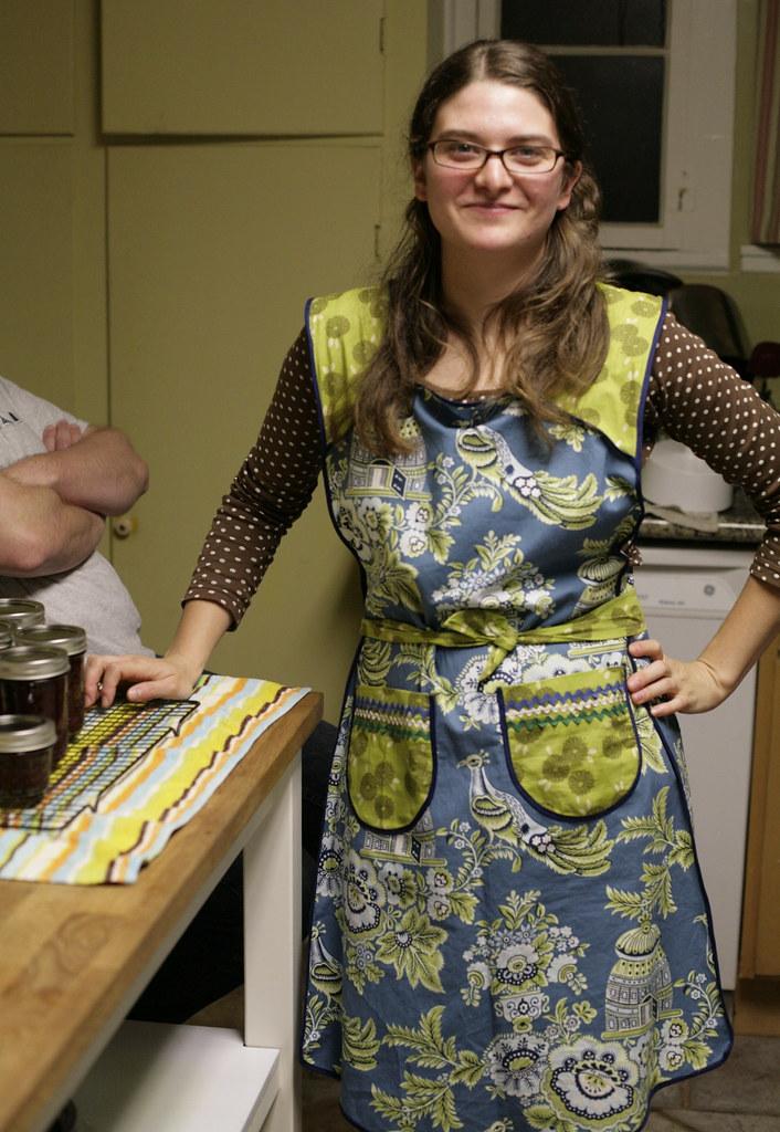 Rebecca's apron
