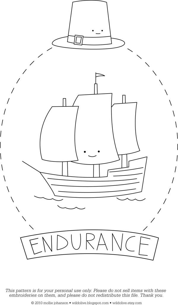 Endurance - a free pattern