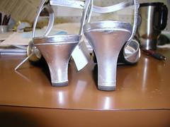 builtup weddingshoe (abi111) Tags: shortleg builtuphighheel