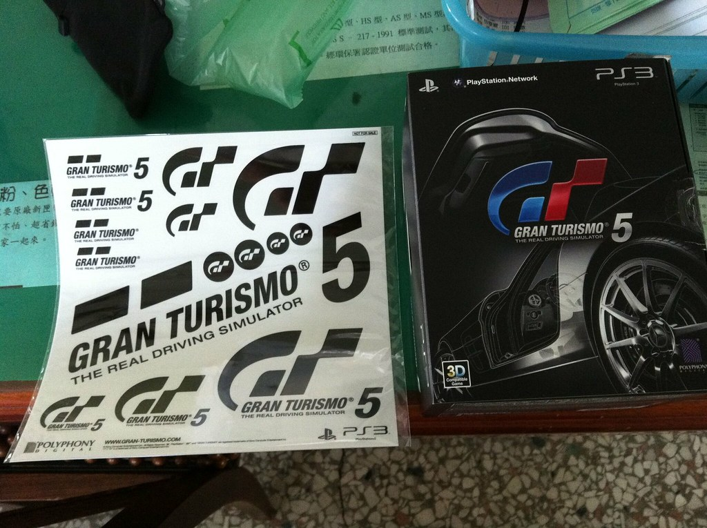 GT5 collection edition .