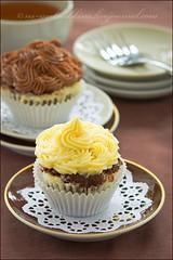 Chocolate and cheese muffins