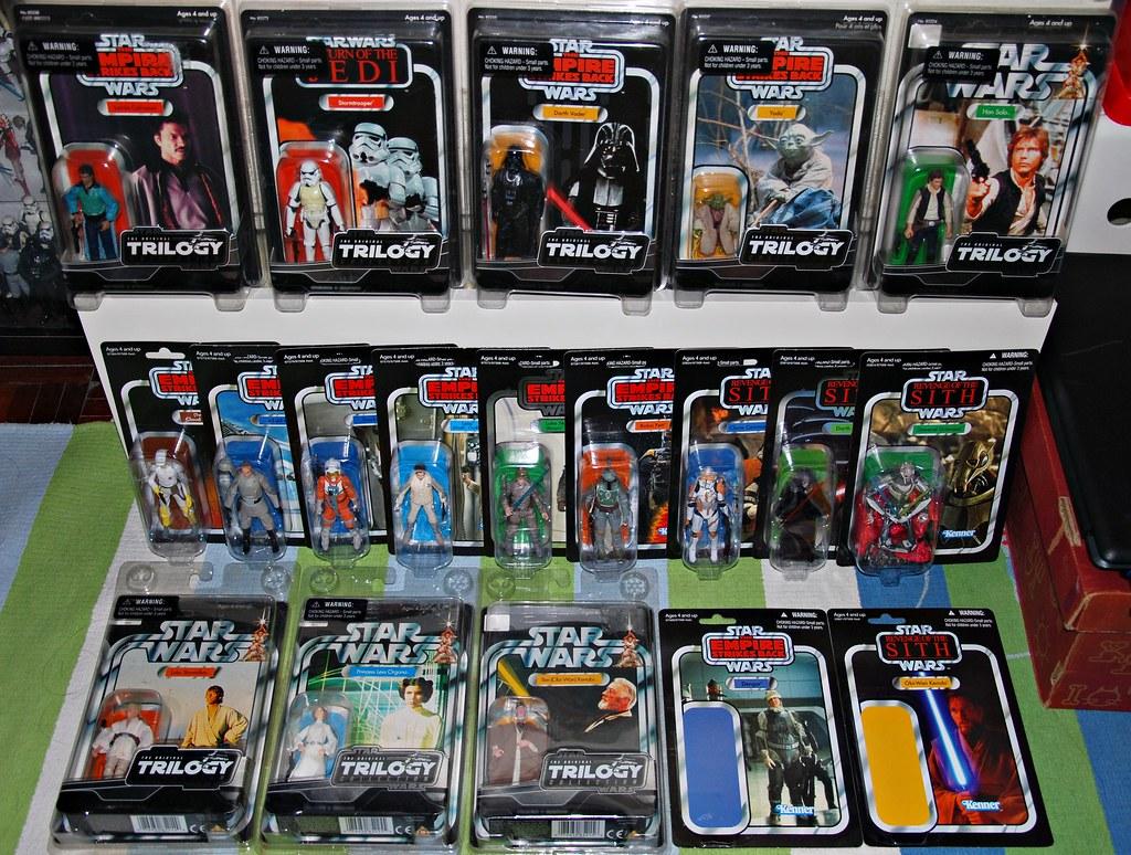 """Vintage carded Star Wars 3.75"""" figures @ Nov '10"""