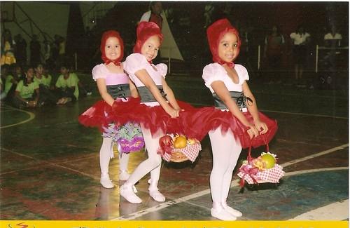 Chapeuzinho Vermelho  bailarinas