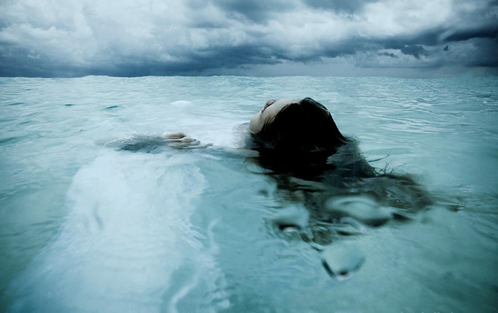 en agua