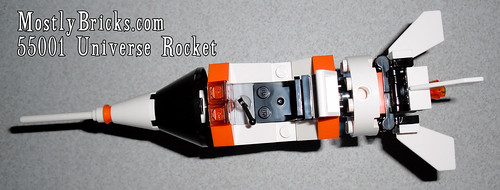 LEGO Universe 55001 Rocket Review