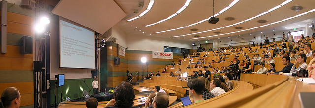 Panorama from the Simonyi conference in 2010