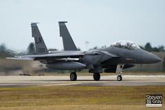 97-0220 - 1358 E219 - USAF - Boeing F-15E Strike Eagle - Lakenheath - 100719 - Steven Gray - IMG_8416