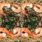 IMG_6293 海老とあさりのパスタ (parallel 3D) thumbnail