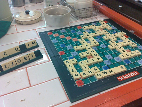 Scrabble at Elevenses
